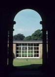 1963 - Entrance Arcade with College Hall in the background