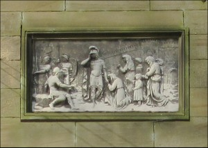 Panel on Archway Lodge
