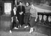 Group on Balustrade