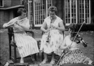 Trio Rehearsing