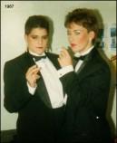 1987 – Madge and Mo.