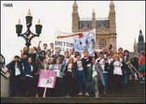 1988 – Demonstration in London