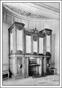Organ in the Music Room