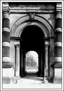 Entrance to Stable Block