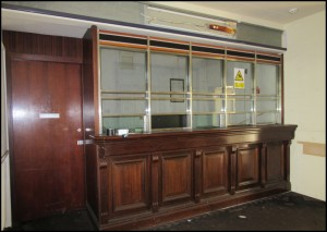 Natwest Bank Counter in the Foyer of the Dining Room - 1980s