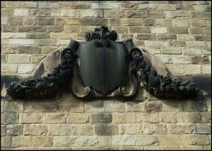 19th century Tympanum to be removed carefully, and preserved.