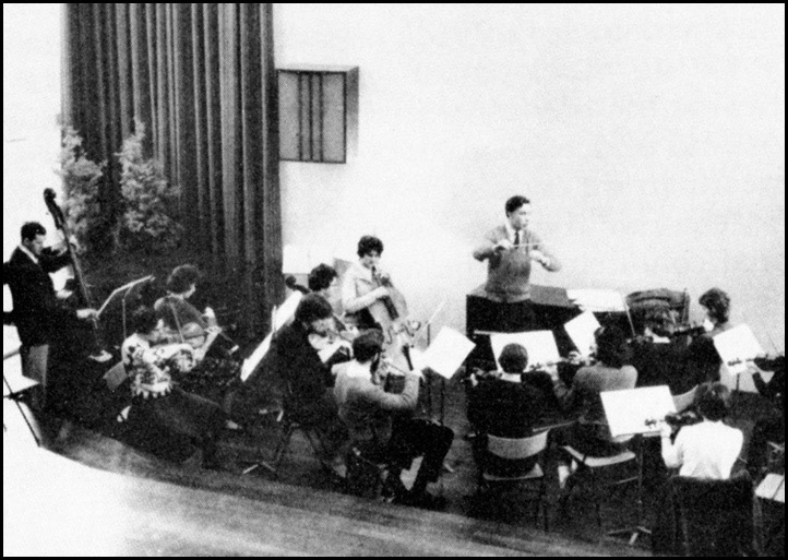 Performance in the Salon - 1964. Paul Shepherd conducting.