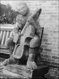 1974 - Sculpture by an unknown student in 1952