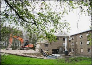 Demolition of Wentworth