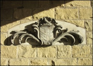 18th Century carving from the former Methley Hall (Leeds), which was demolished in 1964.