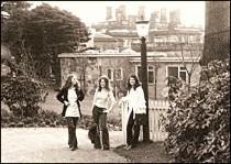 Geordie, Lynn and Alison - 1974