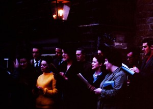 Carol Singing at Christmas, 1963