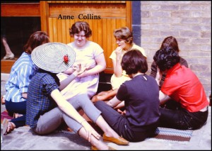 Group with Anne Collins, who became a successful and celebrated opera singer.