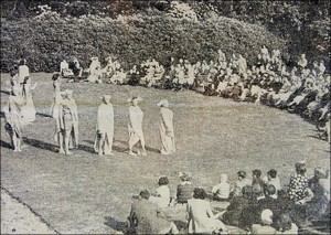 Performance of Culbin Sands - Open Day - Summer 1950. (All Culbin Sands Images provided by Dorothy Morris)