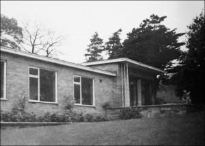 Newly-Built Music School -- 1952. (Image provided by Tony Crimlisk.)