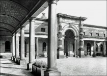 Stable Block Forecourt 1958
