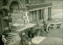 Crucifixion rehearsal