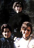 Cast of the 'Three Sisters' - 1974. Image by Gordon Beastall