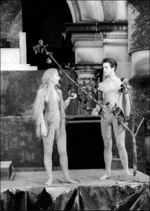 "Adam & Eve in a scene from ""Creation""."