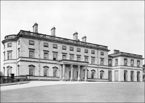 Mansion in 1949. Image by Dorothy Morris (nee Cropper)