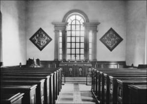 Estate Chapel - 1950s. Image from the Bretton Book