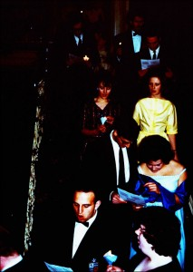 1963 Procession of Singers inside the Mansion.