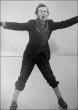 Donald Craig on the Frozen Upper Lake