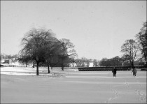 Walking on the Frozen Upper Lake c.1963