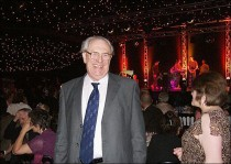 Dr. Alyn Davies (former Principal of Bretton Hall) at the Gala Dinner
