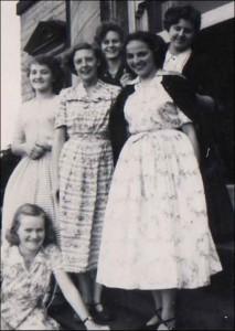 1949 - 'Bentley Springs' Dormitory Girls in 1950