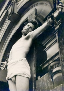 Donald Craig as Jesus Christ in the Wakefield Mystery Plays - 1958