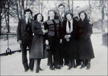 1949 Group on Cascade Bridge