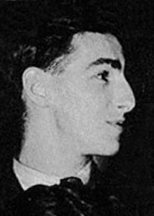 Leslie Burtenshaw as a student in 1949