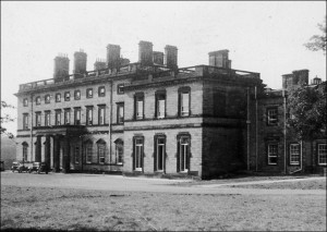 Bretton Hall Mansion in 1950