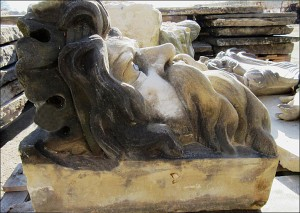 Grotesque Head - Originally displayed in the York Guild Hall.