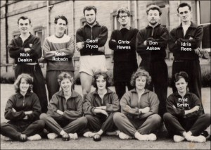 Athletics Team 1961