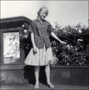 Janet at Cascade Bridge c.1962