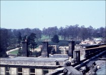 View from the roof in 1962