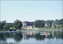 Boating on the lower lake c. 1962