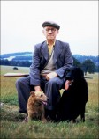Arthur Douglas (Gamekeeper, known as 'Punchie' due to his former career as a boxer) c.1962