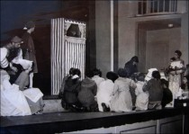 Puppet Show in College Hall - 1956