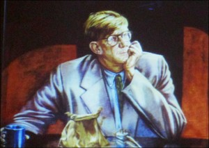 Portrait of Alan Bennett
