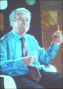 Portrait of Professor J. L. Taylor (Bretton College Principal 1981-93)