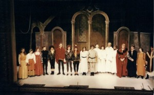 'Blondel' Bretton Festival Week at Theatre Royal Wakefield 1988. Photo provided by Andy Talbot.
