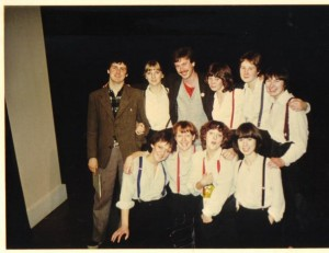 'Interview' from American Hurrah. Bretton Hall & National Student Drama Festival, Hull 1981