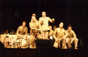 'Miller & Me' Edinburgh Pleasance Theatre and Wakefield Theatre Royal 1989. Photo provided by Andy Talbot.