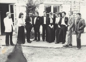 Bretton Singers Summer Tour in France, Belgium and Germany 1982. Photo by Jo Taylor.