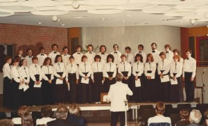 Bretton Singers Summer Tour in France, Belgium and Germany 1982. Image supplied by Jo Taylor.