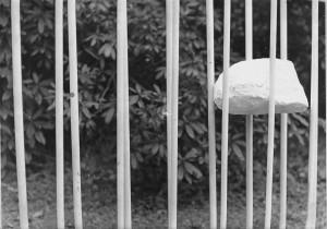Tamsin Spain - Suspended Plaster Pebble