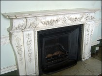 Fireplace in Tapestry Drawing Room